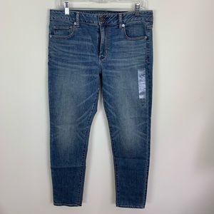 NWT American Eagle High Rise Skinny Jeans Sz 12
